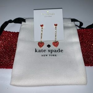 Kate spade yours truly earrings 💋
